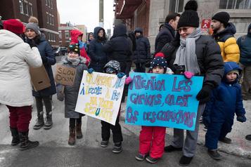 Manifestation silencieuse pour les nombreux piétons happés cette année