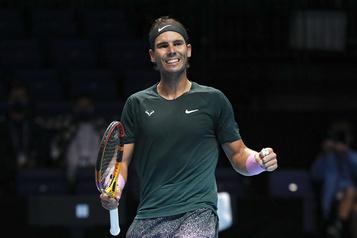 Finales de l'ATP Nadal sort le tenant Tsitsipas et file en demie)