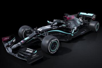 F1: les Mercedes en livrée noire en 2020 pour lutter contre le racisme)