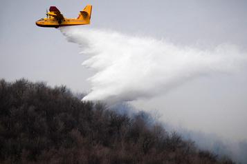 Des drones pour lutter contre les incendies de forêt