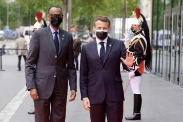 Paul Kagame à Paris France et Rwanda peuvent désormais avoir «une bonne relation» )