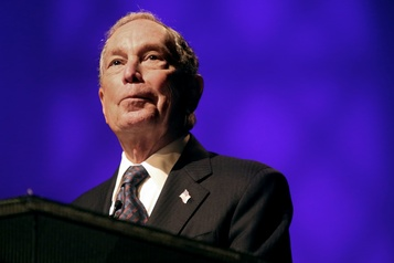 Bloomberg achète pour un montant record de publicités télévisées