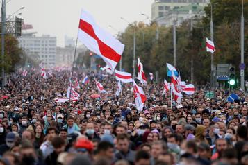 Crise en Biélorussie Le Canada et le Royaume-Uni sanctionnent Minsk)
