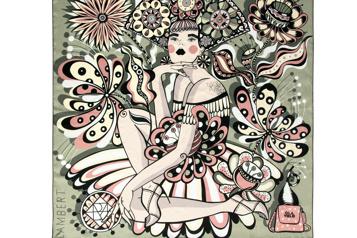 Une œuvre d'Ola Volo au profit des femmes en difficulté)