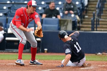 Un duel Yankees-Nationals en lever de rideau)