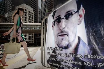 Washington réclame les recettes du livre d'Edward Snowden