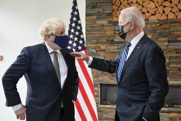 La relation avec les États-Unis est «indestructible», selon Johnson)