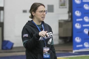 NFL Catherine Raîche nommée VP chez les Eagles de Philadelphie)