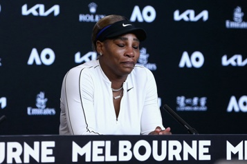 Internationaux d'Australie Serena Williams a-t-elle joué son dernier match ?)