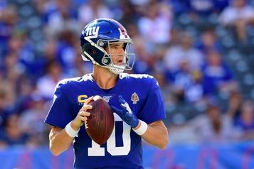Eli Manning accepte le rôle de quart substitut
