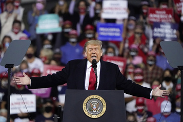 Cour suprême : Trump promet un nom «la semaine prochaine»)