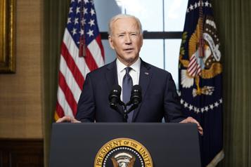 Afghanistan Biden sonne la finde «la plus longue guerre de l'Amérique»)