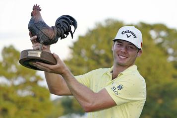 Circuit PGA Sam Burns remporte son 2etitre