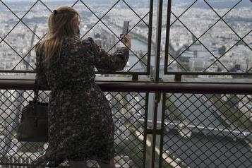 Réouverture du troisième étage de la tour Eiffel)