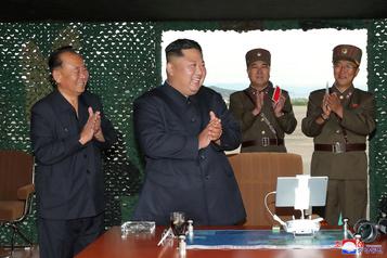 Trump «pas content» après un nouveau test de missiles de la Corée du Nord
