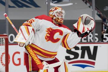 Flames de Calgary Jacob Markstrom s'approche d'un retour au jeu)