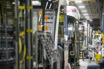 Bombardier en panne de contrats à La Pocatière)