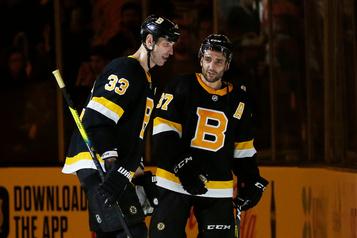 Bergeron et les Bruins l'emportent 4-1