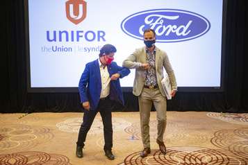 Entente de principe entre Ford et Unifor)