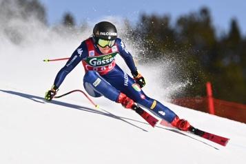 Coupe du monde de ski alpin Sofia Goggia gagne la descente de St.Anton)