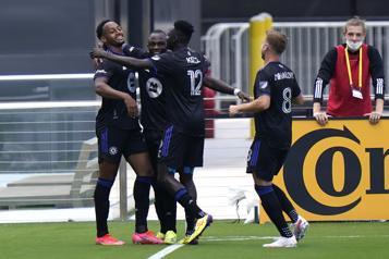 MLS Le CFMontréal offre une première victoire à Wilfried Nancy)
