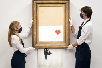 La fille au ballon de Banksy vendue à prix record