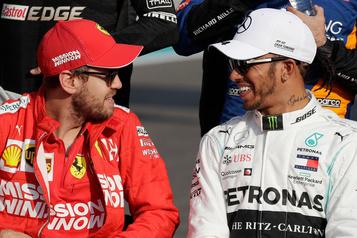 F1: Vettel reste «le premier choix» pour Ferrari, pas Hamilton