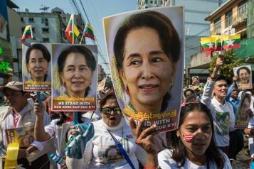 Appel à la junte birmane pour une rencontre avec Aung San Suu Kyi