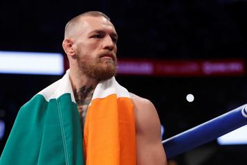 McGregor est mis à l'amende en Irlande
