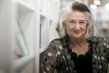 Marie Laberge heureuse d'être lue par François Legault )