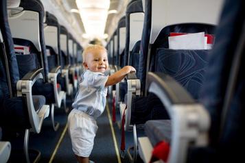 Évitez les pleurs d'enfants, voyagez avec Japan Airlines