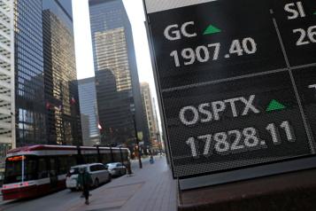 Wall Street prend congé, la Bourse de Toronto en légère hausse)