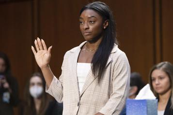 Agressions sexuelles en gymnastique Simone Biles au Congrèsaméricain: «Assez, c'est assez» )