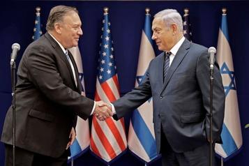 En visite à Jérusalem, Pompeo discute Iran et annexion de territoires palestiniens)