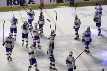 Match d'ouverture Le Rocket prend feu à Laval avec une victoire de 6-2