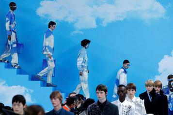 Virgil Abloh s'amuse avec le costume pour Louis Vuitton
