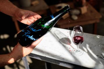 Le vin urbain d'un artiste gourmet