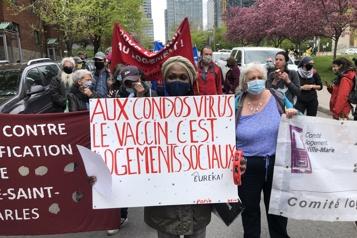 Manifestation pour le logement social «On est en train d'abandonner des locataires» )