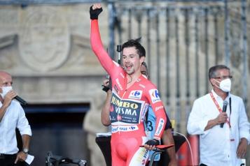Primoz Roglic défend encore son titre au Tour d'Espagne)