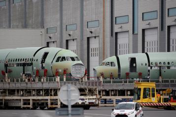 Airbus enregistre 11commandes, mais 92annulations en février)