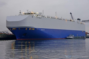Un navire israélien touché par une explosion dans le golfe d'Oman )
