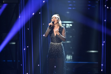 Gagnante de La voix Josiane Comeau, celle qui a persévéré)