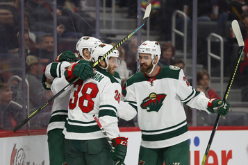 Le Wild se moque des Red Wings, 7-1