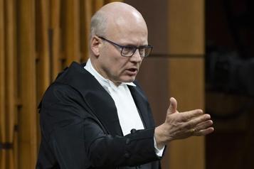 Geoff Regan souhaite demeurer président de la Chambre des communes