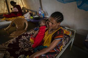 Éthiopie Environ 30000enfants menacés par la famine au Tigré)