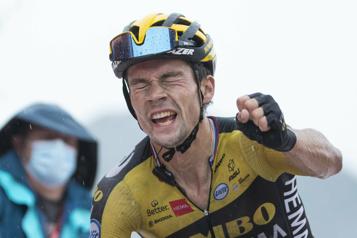 Primoz Roglic s'empare du maillot rouge à la Vuelta)