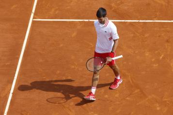 Tournoi de Monte-Carlo Novak Djokovic éliminé en huitièmes de finale)