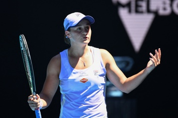 Internationaux d'Australie Ashleigh Barty subit l'élimination en quarts de finale)