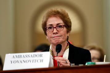 Pompeo promet une enquête pour déterminer si l'ex-ambassadrice à Kiev était surveillée
