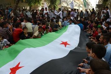 L'esprit de la révolte, toujours intact chez des Syriens en exil)